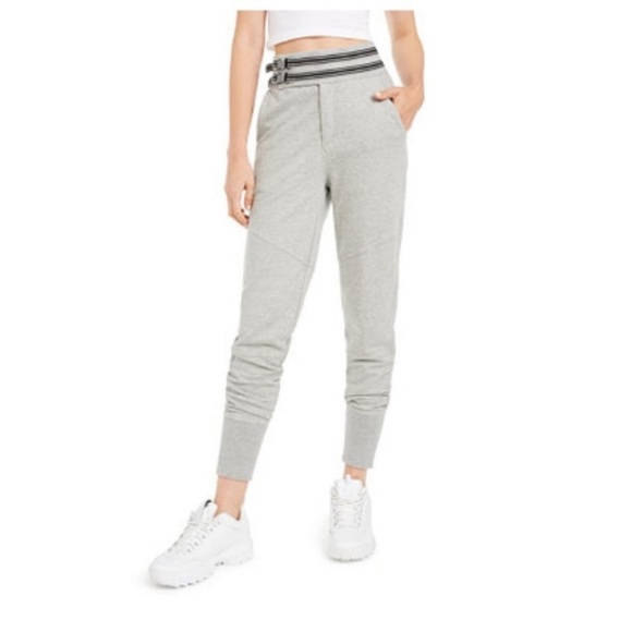 Free People Pants - Free People Off the Road Gray Joggers